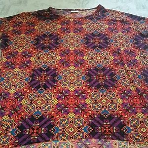 NWT Lularoe XL Irma Tunic Shirt